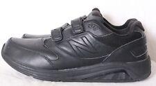 New Balance 928 V2 Black Leather Double Strap Wedge Walking Sneaker Men's US 15