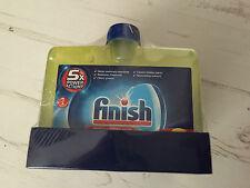 Finish Dishwasher Cleaner Lemon Sparkle 250ml x4 New and Sealed
