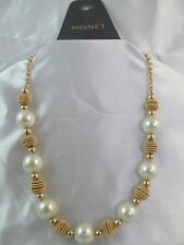 442cd4f5d1012 Monet White Pearl Fashion Jewelry for sale | eBay