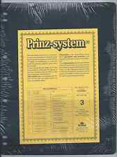 "Prinz (Hagner-style) Single-side B3 Stock Sheets (8½""x11"") 10 Pack Free Shipping"