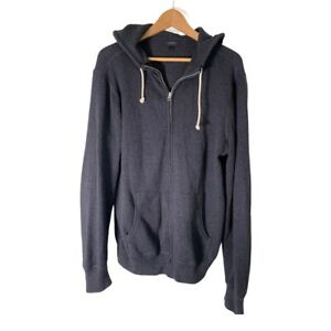 J.Crew M Hoodie Sweatshirt cotton cashmere Blend Medium Full Zip