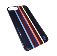 Tory Burch Navy Multicolor Stripe Hardshell Iphone 7 Case Tech Accessory