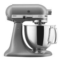KitchenAid 5-Quart Artisan Tilt-Head Stand Mixer | Matte Gray