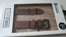 Official Genuine Samsung Gear S3 ,S2  Leather Strap (22mm) Dark Brown