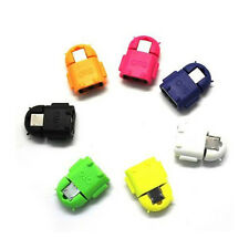 Robot Micro USB Host OTG Adapter Cable for Samsung Galaxy S3 S4 Note2
