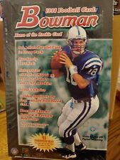 1998 BOWMAN FOOTBALL NFL HOBBY BOX 24 PACKS SEALED MANNING MOSS ROOKIES
