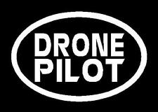 x2 Euro Oval DRONE PILOT Decals Stickers  FREE SHIP Phantom 3 4 Inspire 1 yuneek