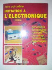 Initiation à l'électronique