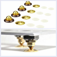 8Pcs Audio Suspension Nail Float speaker Spikes Stand Base Isolator Feet Pads
