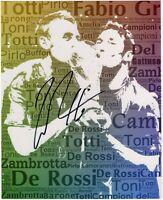 Foto Autografo Sport Calcio Daniele De Rossi Mondiali 2006 Asta di beneficenza