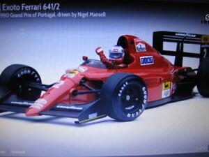 Exoto 1:18 Ferrari 641/2 Mansell 1990 Winner Portugal Grand Prix