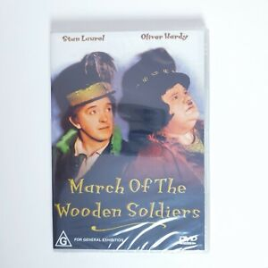March Of The Wooden Soldiers Movie DVD Region 4 AUS Free Postage - Comedy