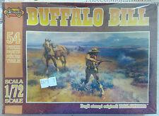 * - NEXOS - BUFFALO BILL - 54 PARTS - 1/72 SCALE - ATLANTIC - NUOVO SIGILLATO