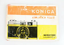 KONICA AUTO 52 OWNERS MANUAL