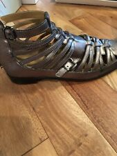 Womens Coconuts By Matisse Lucy Size US 10 Ankle Boots, Silver