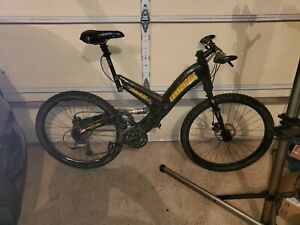 Cannondale Super V Raven MTB w/Shimano XTR Components, well riden condition