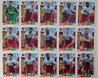 2019/20 PANINI EPL Soccer Cards - West Ham Team Set (15 cards) inc shiny