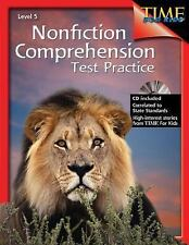 Nonfiction Comprehension Test Practice Level 5 Shell Education;Shell Education
