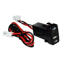 2.1A DUAL USB PORT CHARGER PHONE TOYOTA DASH ACCESSORY 5V TACOMA 4RUNNER FJ HP