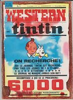 TINTIN n°918 du 26 mai 1966. Couverture de Hergé - TBE
