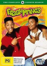 THE FRESH PRINCE OF BEL-AIR DVD SEASON 4 WILL SMITH TV SERIES COMEDY NEW+SEALED