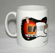Guitar Mug. Andy Summers' Fender Telecaster illustration.