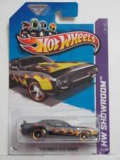 HOT WHEELS 2013 SHOWROOM '71 PLYMOUTH ROAD RUNNER BLACK