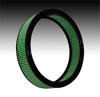 """GM Cars & Trucks Green High Flow Air Filter 14""""   #2012"""