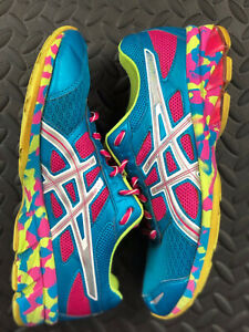 Asics Gel Frantic 7 Women's Running Shoe Size 8.5 Blue Training Sneaker T3A6N