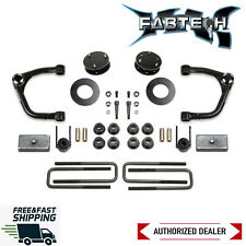 "Fabtech 3"" UniBall UCA Lift W/ Factory Adaptive Ride 2019-2020 Silverado 1500"