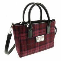 Ladies Authentic Harris Tweed Small Tote Bag With Shoulder Strap LB1228 COL 90