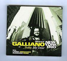 CD (NEW) RICHARD GALLIANO NEW YORK TRIO RUBY MY DEAR