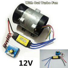 12V ESC Drive Controller Car Electric Turbine Power Turbo Charger Air Intake Fan