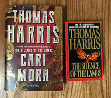 Lot Of 2 By Thomas Harris: Cari Mora Hardcover Silence Of The Lambs Paperback