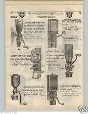 1924 PAPER AD X Ray Universal Jewel Royal Oriental Crystal King Coffee Mill