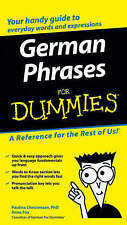 German Phrases for Dummies by Paulina Christensen, Anne Fox (Paperback, 2005)