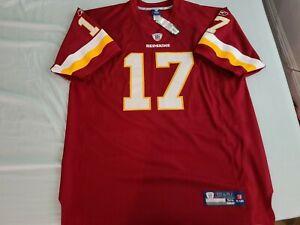 Reebok authentic Washington Redskins Jason Campbell Jersey sz 54 2XL NWT defunct