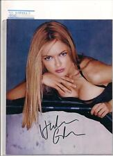 The Very Beautiful Heather Graham Original Signed Photo w/COA.