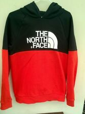 THE NORTH FACE Youth Jacket Hooded Hoodie Boys Sweatshirt size XL / TG Logos