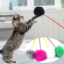 1Pcs Cat Kitten Sway Toy Fun Play Pole Ball Activity Soft Post Pet Tease Teaser