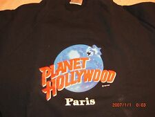 PLANET HOLLYWOOD ***NEW*** PARIS France Sweat Shirt ****Medium****