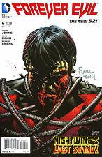 Forever Evil #6 The New 52! Variant Edition Signed By Artist David Finch