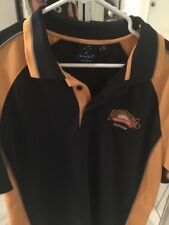 Bundaberg Ginger Beer Australian Polo Employee Uniform Shirt Xl Colorblock