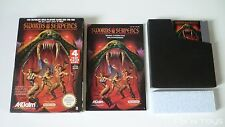 NINTENDO NES / Swords and Serpents / PAL B [ NES-WP-FRA ]