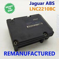 2W932C405AC Remanufactured with Trac Ctrl Jaguar XJ8 ABS Module
