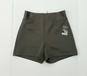 GUESS High Waisted Black Elastic Shorts sz S