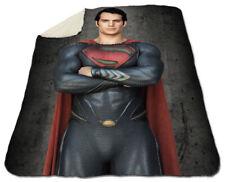 "Henry Cavill Winter Blanket 60""x80"" Queen Size NEW Fleece Christmas Superman #1"