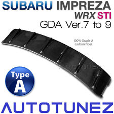Carbon Fiber Car Roof Vortex Generator For Subaru Impreza WRX STI GDA GDB TU