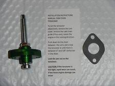 Green Timing Cam Chain Tensioner Manual Adjuster Kawasaki Yamaha 250 300 400