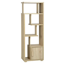 Cambourne 1 Door Display Unit Light Sonoma Oak
